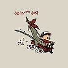 Dustin And Dart Stranger Things 2 by bubivisualarts