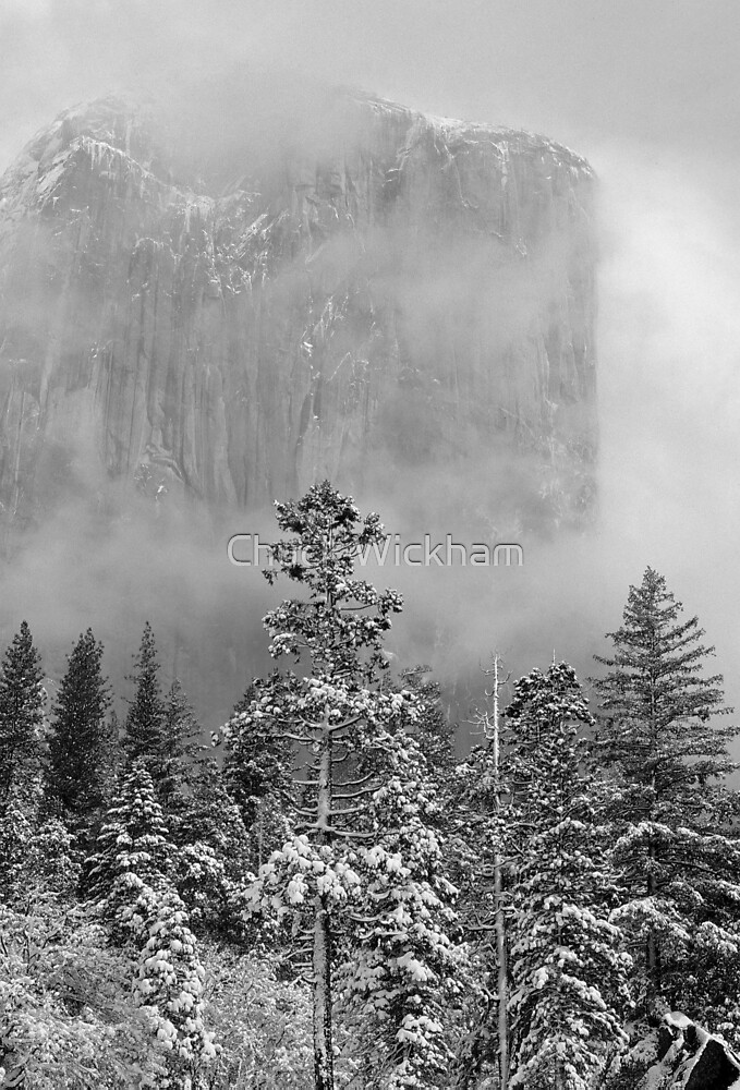CLEARING WINTER STORM by Chuck Wickham