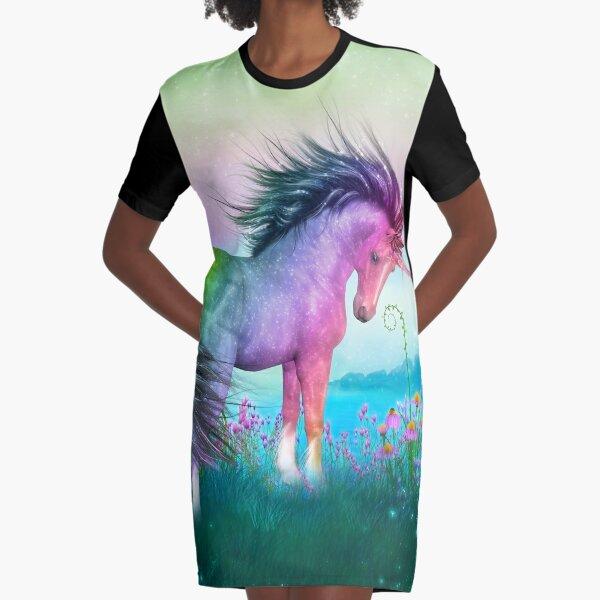 Unicorn - Wisdom T-Shirt Kleid