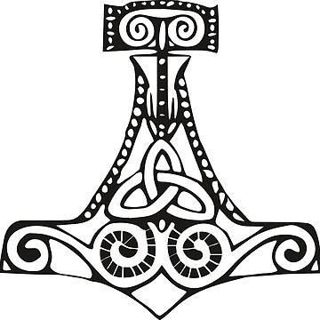 Mjölnir- Thors hammer by handcraftline