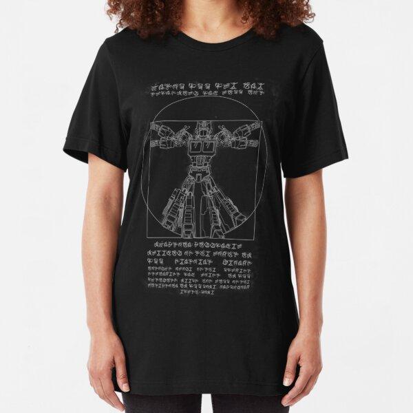 Vitruvian Prime inverted Slim Fit T-Shirt