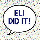 Eli did it! by maiboo