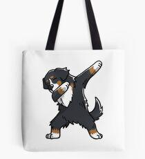 Funny Dabbing Bernese Mountain Dog Tote Bag