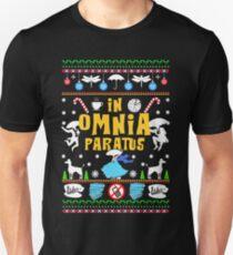 In Omnia Paratus Ugly Christmas Sweatshirt Unisex T-Shirt