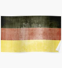 Grunge Flag Of Germany Poster