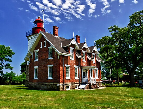 Dunkirk Lighthouse - Dunkirk, NY by Kathy Weaver