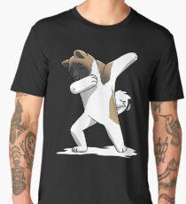 Funny Dabbing Akita Dog Men's Premium T-Shirt