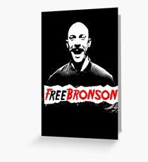 Free Charles Bronson v2 Greeting Card