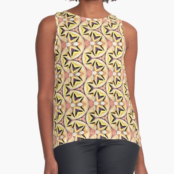 pattern 3 Sleeveless Top