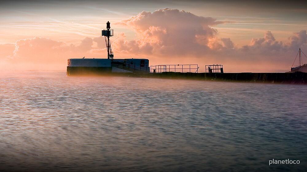Looe Harbour by planetloco