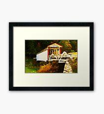 Jackson's Mill Bridge Framed Print