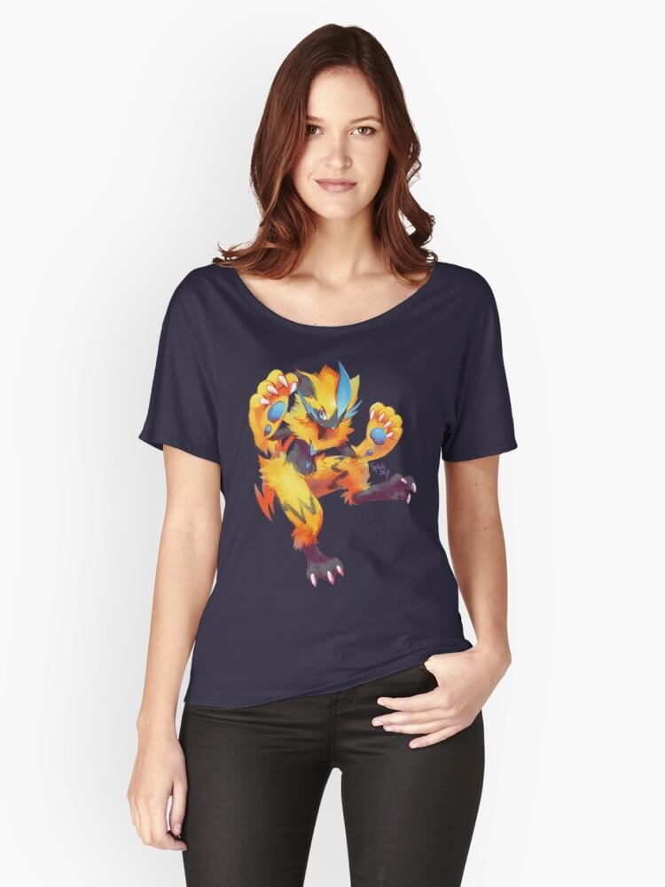 Zeraora Women's Relaxed Fit T-Shirt Front