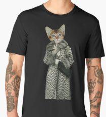 Kitten Dressed as Cat Men's Premium T-Shirt