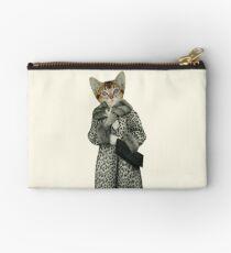 Kitten Dressed as Cat Studio Pouch