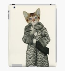 Kitten Dressed as Cat iPad Case/Skin