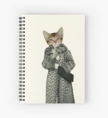 Kitten Dressed as Cat Spiral Notebook