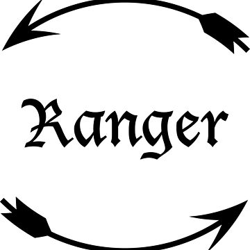 Ranger (Minimalistic) by thecraftydino