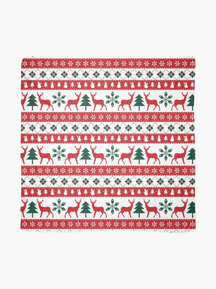 Alternate view of Ugly sweater christmas Scarf