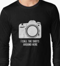 Photographer I call the shots funny design T-Shirt