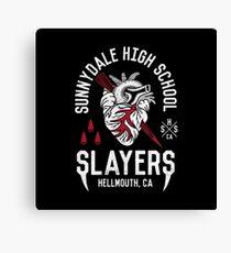 Sunnydale Slayers Canvas Print