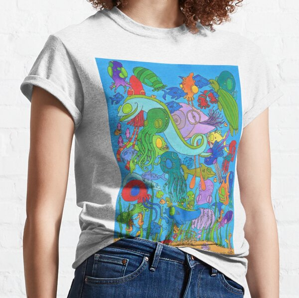 A Rather Crowded Ocean Classic T-Shirt