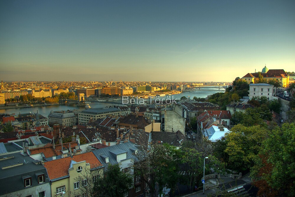 Budapest - South by Béla Török