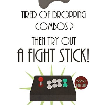 Try out a fight stick! by Nundei
