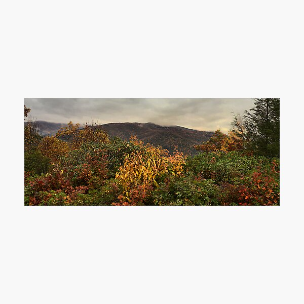 Cold Mountain Edited Photographic Print