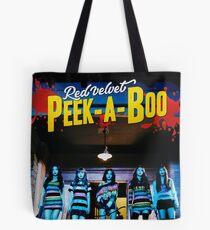 RED VELVET Peek-A-Boo Tote Bag