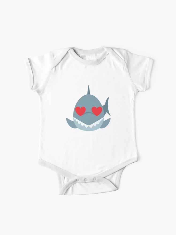 Shark Emoji | Baby One-Piece