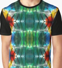 Red Hot Colorful Flame Graphic T-Shirt