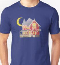 Coraline Pink Palace Paper art Unisex T-Shirt