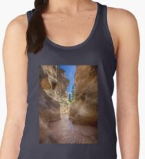 At the End of the Canyon - Grand Staircase of the Escalante - Utah Women's Tank Top
