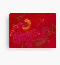 Red Phoenix Canvas Print