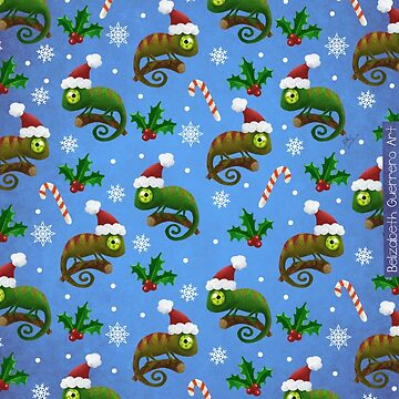 Chameleons Christmas! by belizabethg