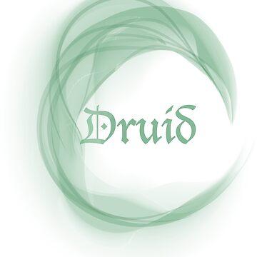 Druid  by thecraftydino