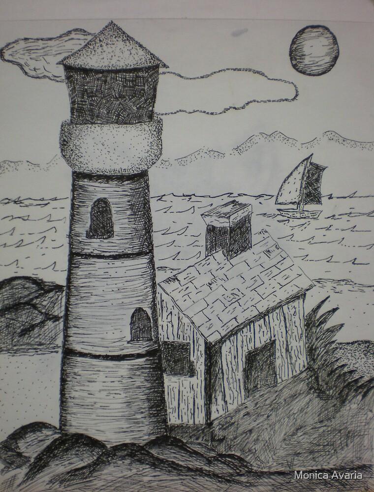 lighthouse by Monica Avaria