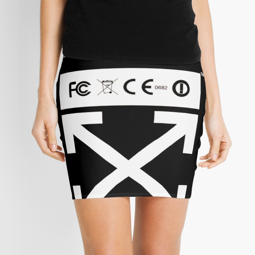 Blanquecino Minifalda