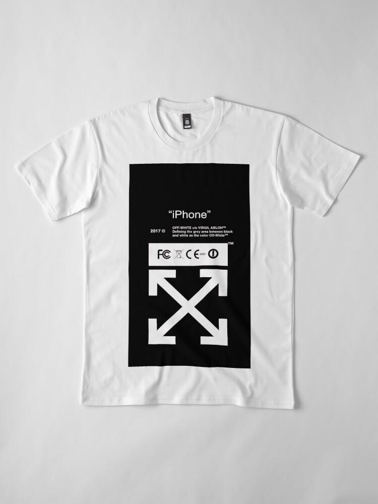 Vista alternativa de Camiseta premium Blanquecino