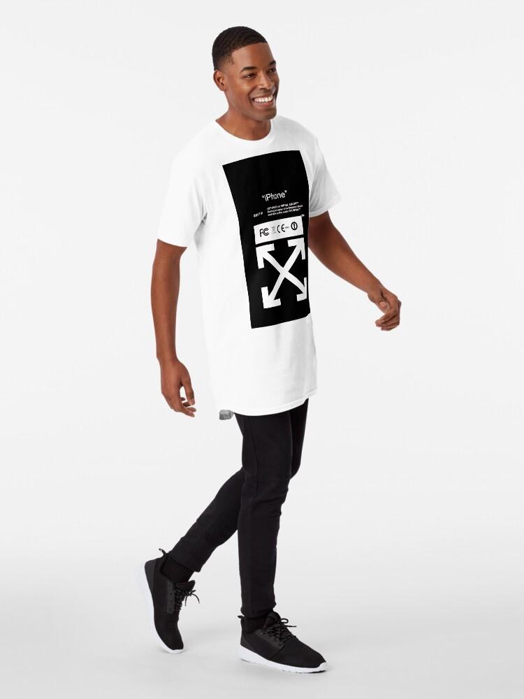 Vista alternativa de Camiseta larga Blanquecino