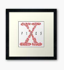 """The X-Files"" Tv Series Framed Print"