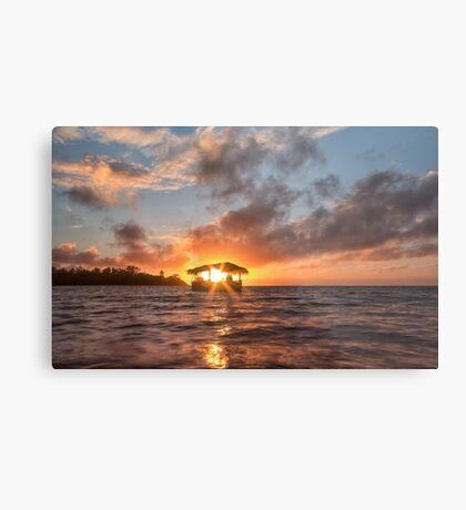 Sunrise in Paradise Metal Print