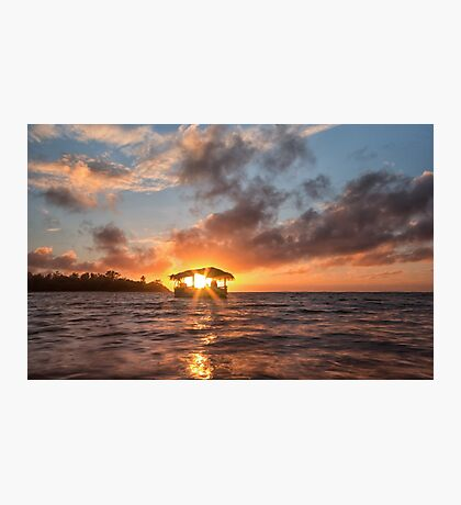 Sunrise in Paradise Photographic Print