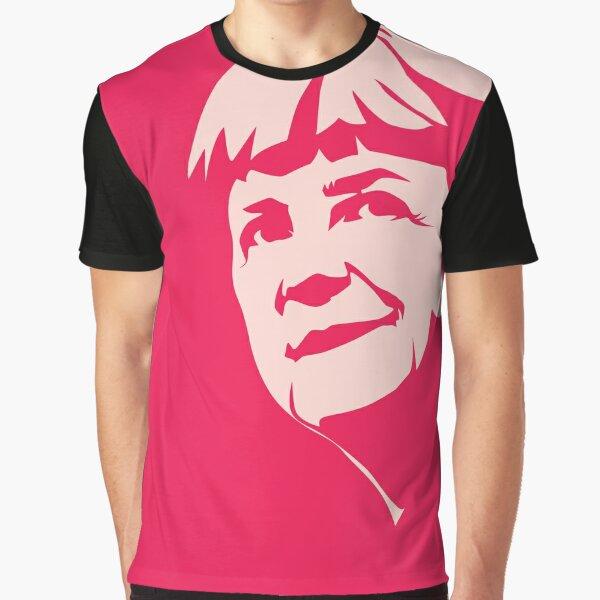 Angela Merkel Hope 2 Graphic T-Shirt