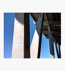 Stadium Pylon Photographic Print