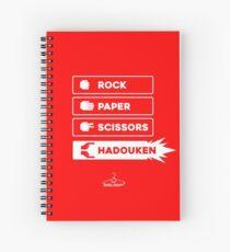 Hodouken Wins Every Time  Spiral Notebook