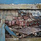 Crumbling Brick Wall by EplusC Studio