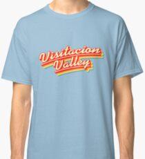 Visitacion Valley | Retro Rainbow Classic T-Shirt