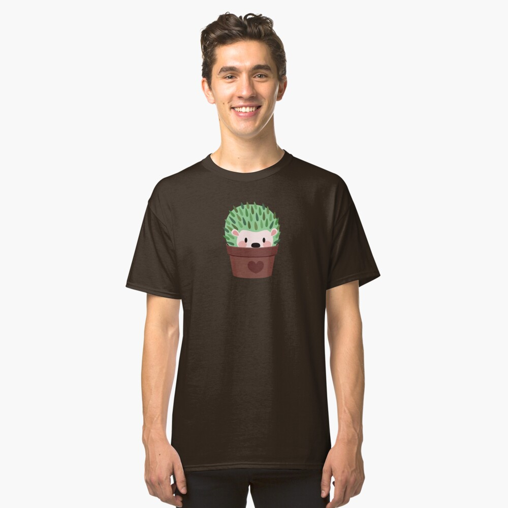 Hedgehogs disguised as cactuses Classic T-Shirt