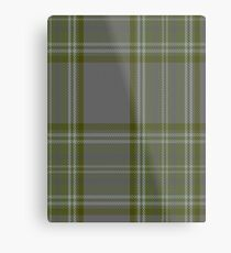 00326 Long Way Down Tartan Metal Print